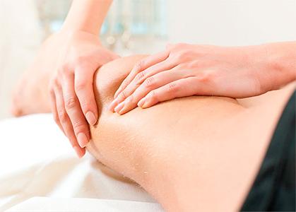 A massagem desportiva ajuda no rendimento dos atletas.