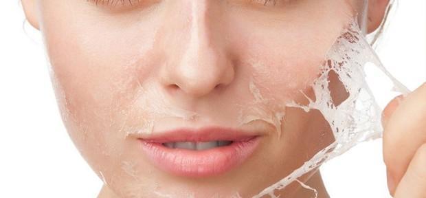 imagem de peeling facial